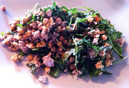 SALADE-ROUQUETTE-THON-